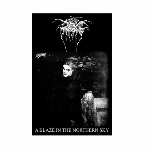 Darkthrone A Blaze In The Northern Sky Tapestry Fabric Cloth Poster Flag Banner