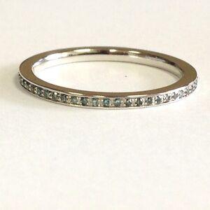 0-20-Ct-Blue-Diamond-Pave-Set-Full-Eternity-Ring-9k-White-Gold