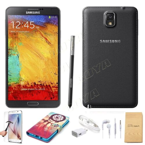 SELLER REFURBISHED 32GB SAMSUNG GALAXY NOTE 3 III N900 SMART ANDROID CELL PHONE FACTORY UNLOCKED