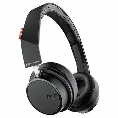 Plantronics BackBeat 505 Headphones - Grey Bluetooth On-Ear Wireless New
