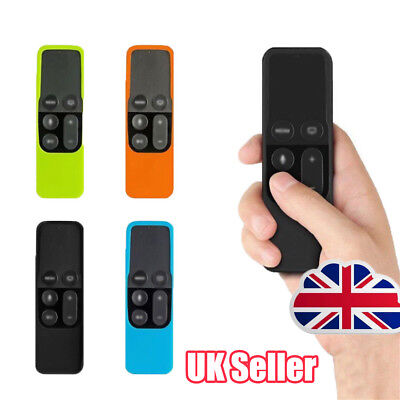 Remote Controller Case Silicone Protective Cover Skin For Apple TV 4th Gen DL