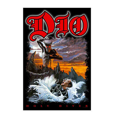 DIO Holy Diver Tapestry Cloth Fabric Poster Flag Wall Banner