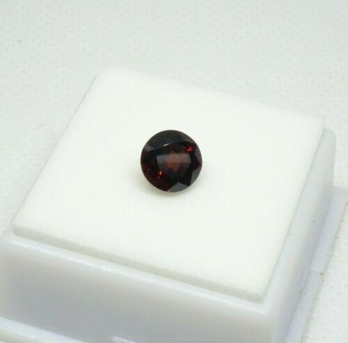Stunning! Red Grossular Garnet - 2.23ct - 8mm - Garnet Loose Gemstone