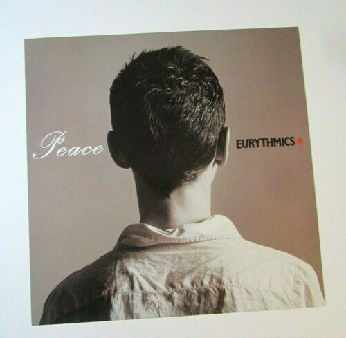 Eurythmics 1999 Double Sided Original Promo Poster Flat