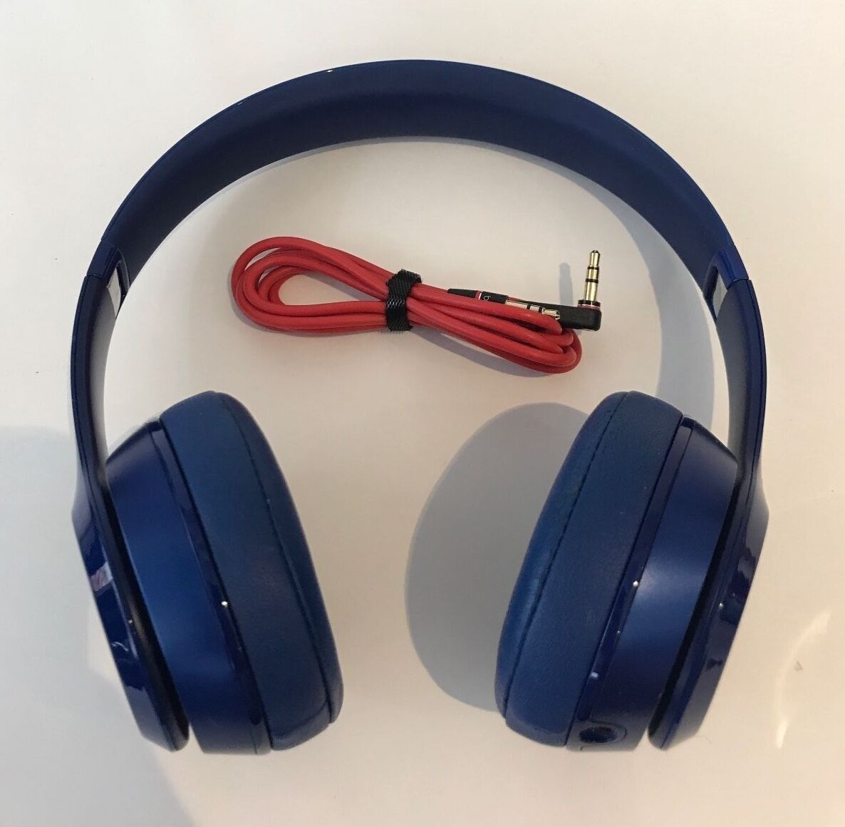 Authentic Beats by Dr. Dre Solo2 Wired Headband Headphones - Good Condition