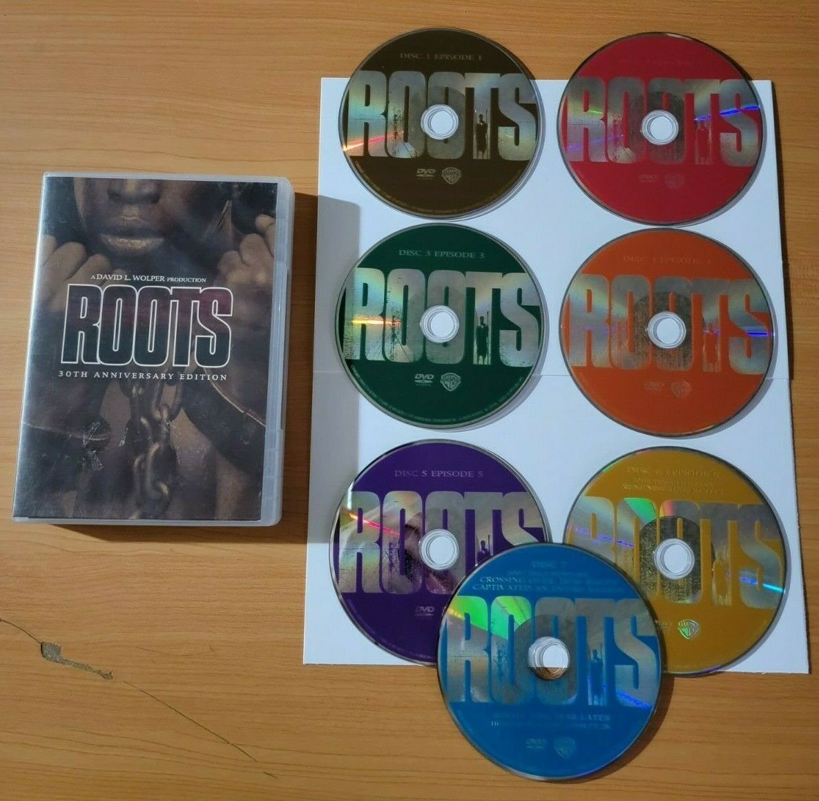 Roots DVD, 2011, 7-Disc Set, 30th Anniversary Edition Complete Like New  - $17.95