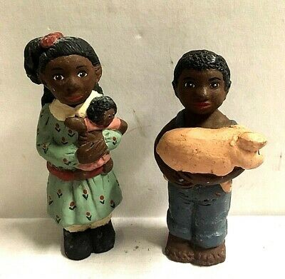 "Figurines Storybook Collection 4""  Boy & Girl  983 Carolyn Carpin"