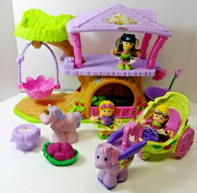 Fisher Price Little People Fairy Tree House with Accessories 2009