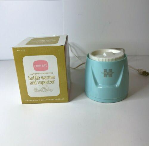 Vintage Hankscraft Crib Set Automatic Electric Bottle Warmer & Vaporizer w/BOX