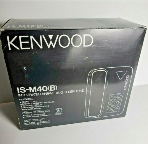 Kenwood Vintage 1991 IS-M20 (B)  Integrated Answering Telephone New