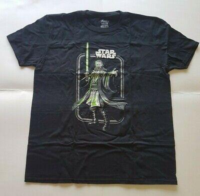Funko Star Wars Qui Gon Jinn Jedi T-Shirt X-Large XL Smugglers Bounty