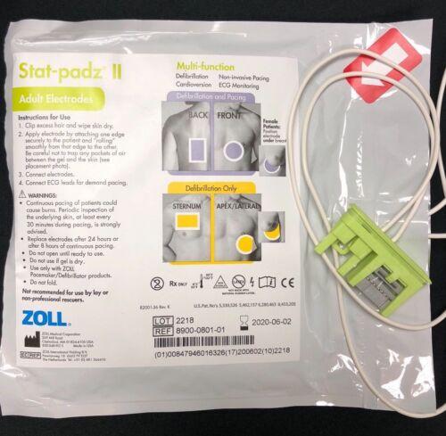 Zoll Stat Padz II- for Zoll AED Plus Defibrillator