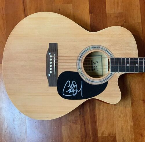 * CHARLIE DANIELS * signed acoustic guitar * THE DEVIL WENT DOWN TO GEORGIA * 2