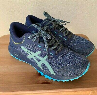 Asics Alpine XT Trail Running Shoes Woman's Size-8 Navy/Blue/Grey