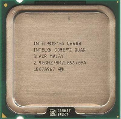 Intel Core 2 Quad Cpu Q6600 2 4Ghz 8M 1066 Lga775 Slacr