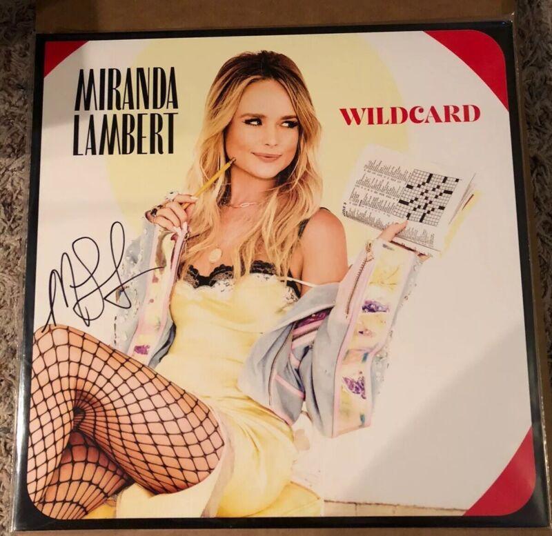 Miranda Lambert Autographed Wildcard Red Vinyl LP