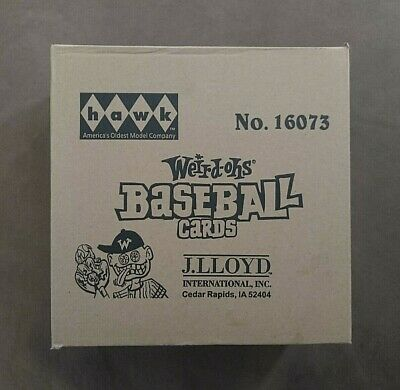 2007 Hawk Weird-Oh's Baseball Trading Cards Sealed Case ~ (5) Boxes Inside