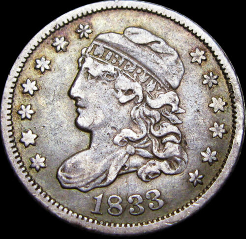 1833 Capped Bust Half Dime ---- NICE TYPE COIN ----  #V425