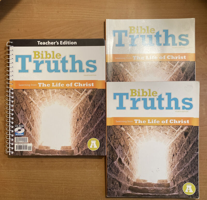 Bju 2 Students Pack— Bible Truths: Learning From The Life Of Christ (4th Ed)