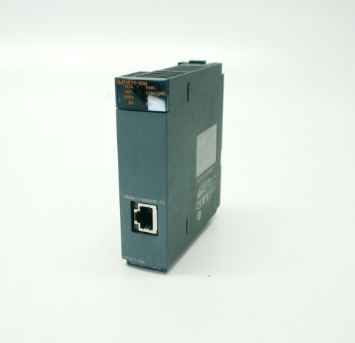 Mitsubishi QJ71E71-100, MELSEC-Q Series Ethernet I/F Unit Module