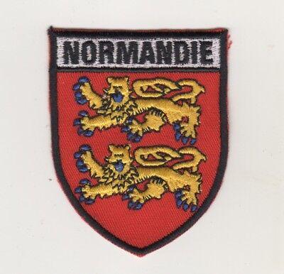 Uniform Aufnäher Patches Frankreich Normandie Wappen