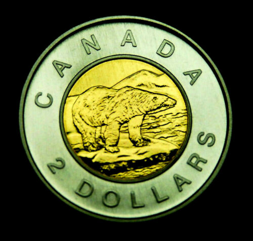"2004 $2 specimen ""toonie"" - beautiful, uncirculated coin"