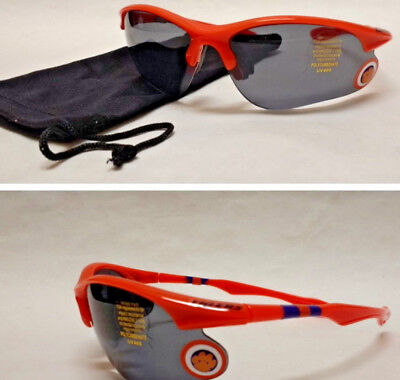 READ LISTING! Clemson Tigers BULLSEYE 3-D Logo on Blade Sunglasses! 2 PC SET! - Bullseye Sunglasses