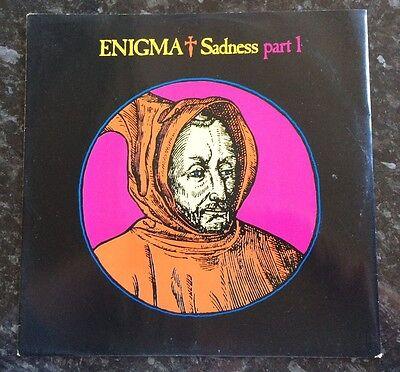 "ENIGMA - Sadness Part I - 12"" Vinyl Record - 1990"