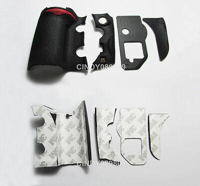 New A Set Of 4 Pieces Grip Rubber Unit For Nikon D700 DSLR Rubber with Fx mark