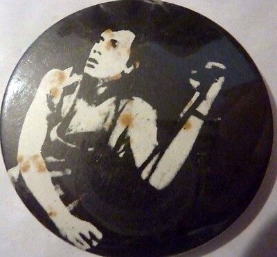 "JOHNNY ROTTEN"" Vintage 1970's -1980's Button/Badge 2 ¼  """