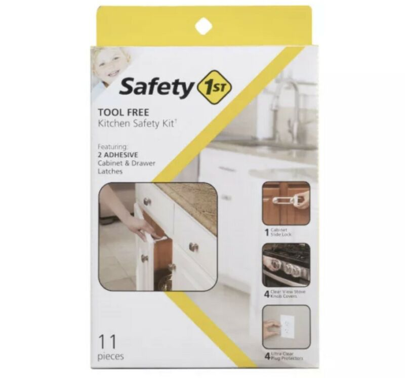 Safety 1st Tool Free Kitchen Safety Kit 11 Pieces