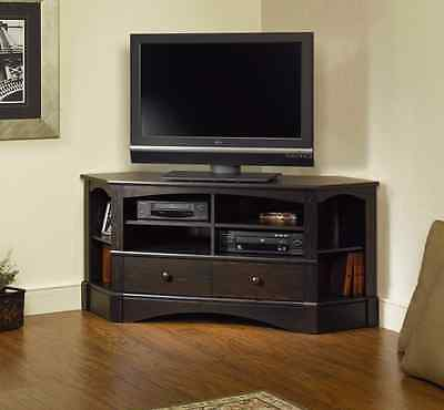 Corner TV Stand Entertainment Unit Credenza for TVs up to 42 inches Choose (Corner Tv Stand For 42 Inch Tv)