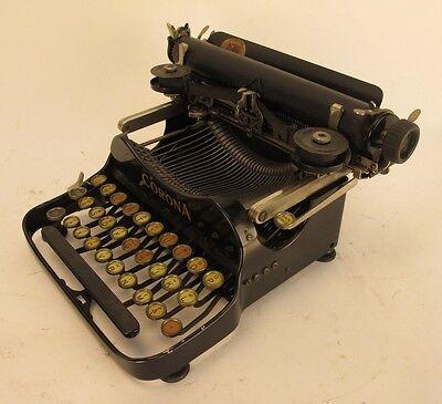 Vintage Corona 3 Portable Flip Top Typewriter with Case 419276