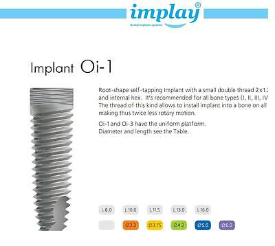 Dental Implant Straight Abutment Set X 10 Fda Approved  Original  Low Price