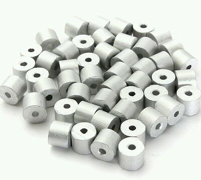 Aluminum Swage Stops For 316 Wire Rope Cable 50 And 100 Pcs