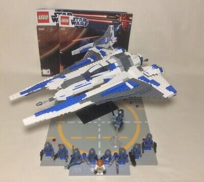 Lego Star Wars 9525 Pre Vizsla's Mandalorian Fighter 100% Complete Death Watch