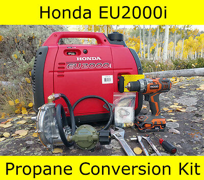 New Honda Eu2000i Propane Generator Conversion Kit