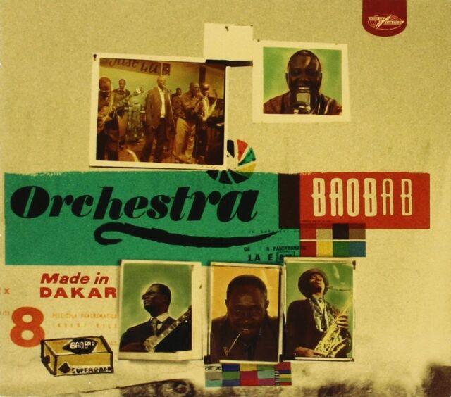 ORCHESTRA BAOBAB - MADE IN DAKAR  CD NEU