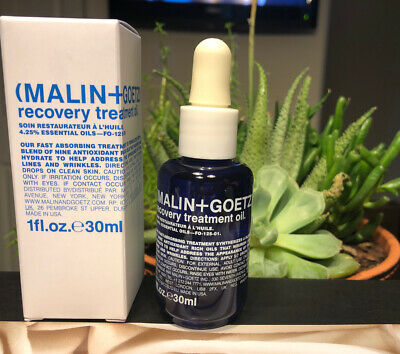 MALIN+GOETZ Recovery Treatment Oil 1 oz / 30ml Antioxidant Facial Oil New In Box