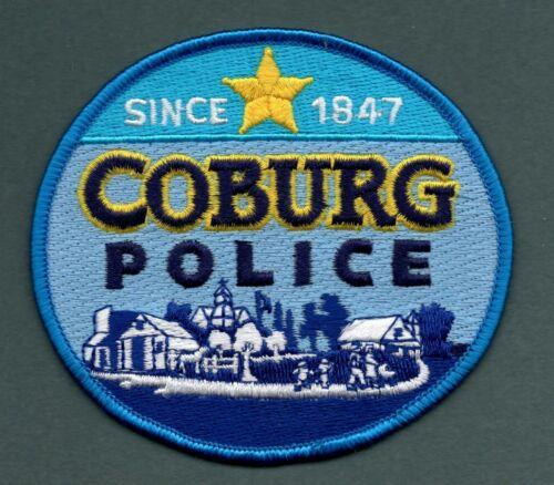 Coburg Oregon Police Patch