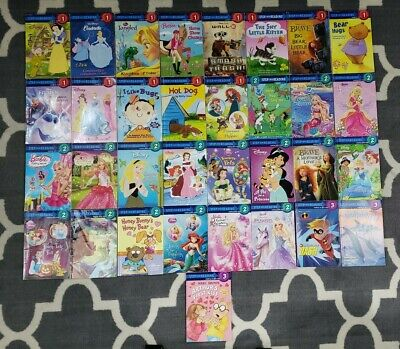 Lot 33 Leveled Readers Step Into Reading I Can Read Books Level 1 , 2 & 3