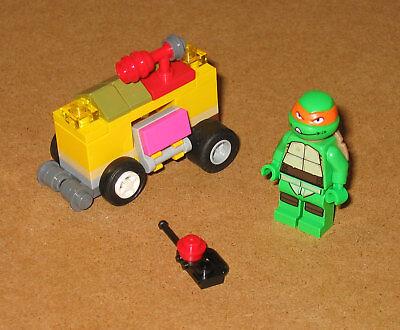 30271 LEGO Mikey's Mini Shellraiser TMNT 100% Cmplt NO Instructions EX COND 2014