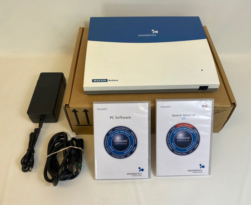 Madsen Astera Otometrics 1066 REF 8-04-13102 Audiometer -Free US Shipping-