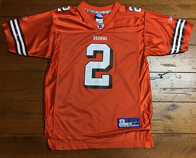 NFL Cleveland Browns #2 Youth Jersey Size Large Reebok