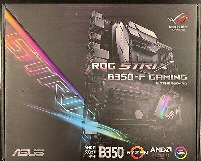 ASUS ROG STRIX B350-F GAMING AMD Ryzen AM4 DDR4 Motherboard