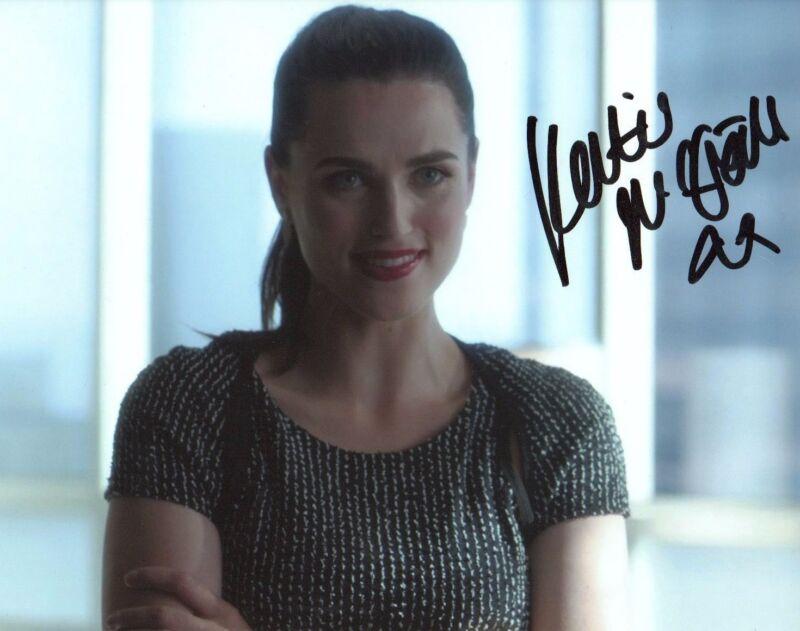 Katie McGrath Supergirl Autographed Signed 8x10 Photo COA #13