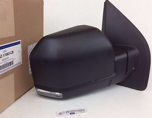 Ford F  Front Right Passenger Side Mirror With Turn Signal New