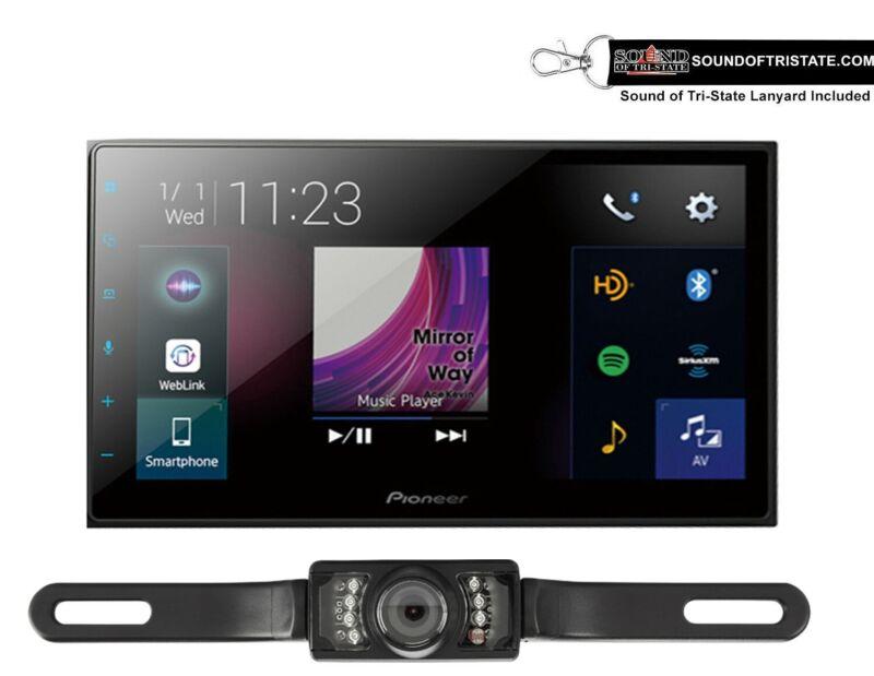 "Pioneer DMH-2660NEX 6.8"" Mechless Media Receiver + License Plate Backup Camera"