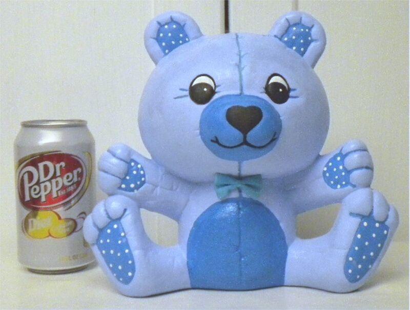 CERAMIC  SITTING TEDDY BEAR BANK