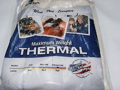 Schwere Thermo-unterwäsche (Thermo Super Schwer Size: S, M, L, XL, 2x, 3x, 4x)